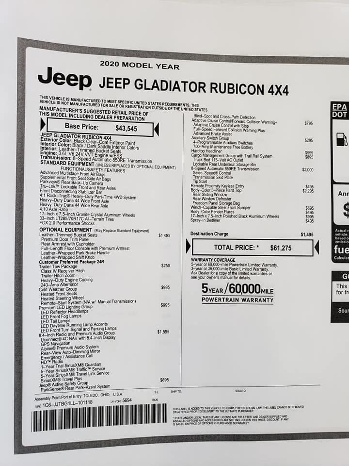 And will we get the Jeep Gladiator | Page 8 | 4x4Earth