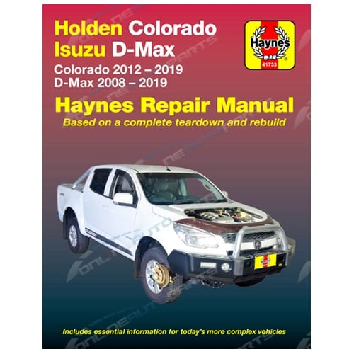 Rg Colorado Work Manual Now, Holden Colorado Wiring Diagram Pdf