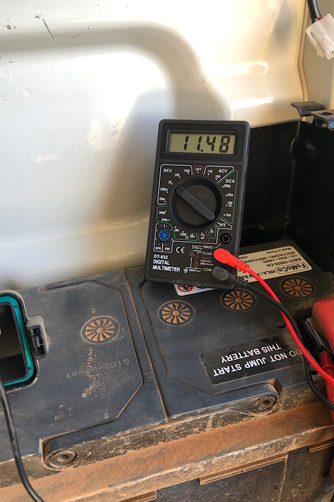 Auxiliary Battery In Ford Ranger Mk2