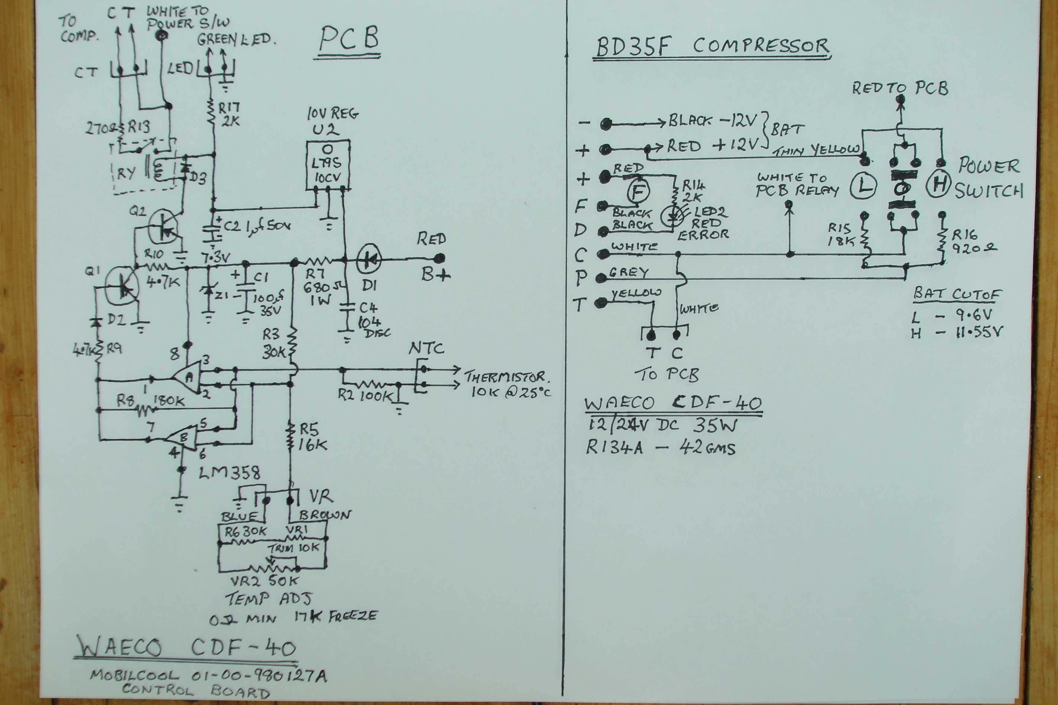 Electrical Wiring Diagram Dometic Waeco