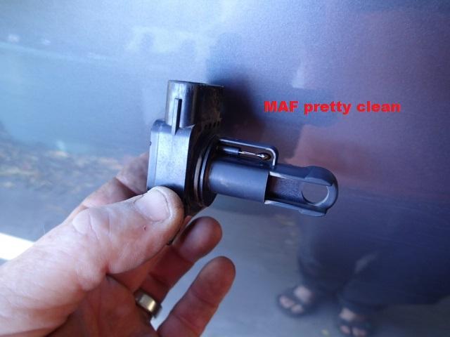 Ford PK Ranger MAF / MAP sensor clean | 4x4Earth