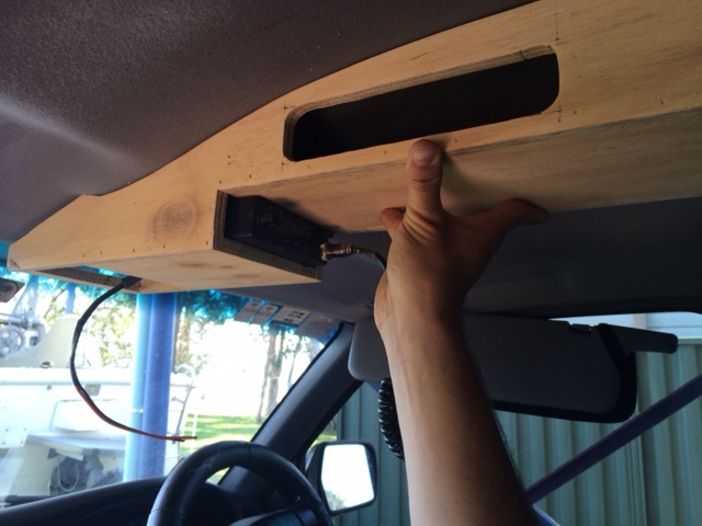 Diy Overhead Console For Hilux 4x4earth