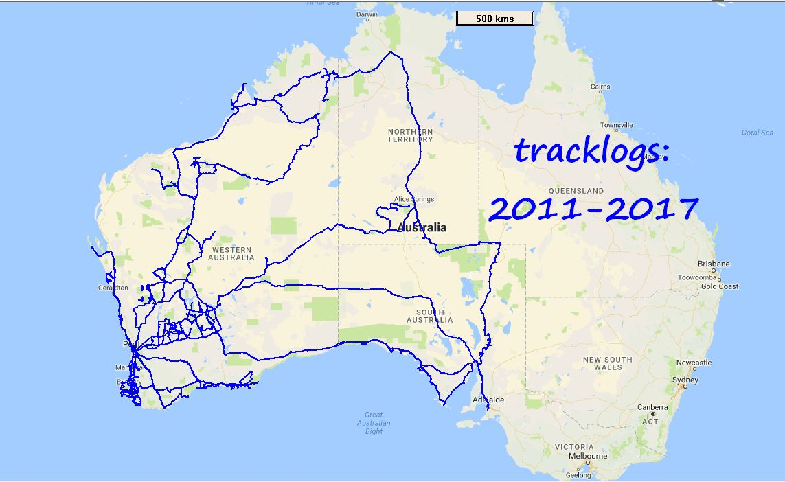 4wd Map Of Australia.Best Gps For Offroad Tracking For 4wd Trips 4x4earth