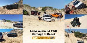 4x4 Beach Carnage