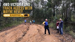 We discuss 4WD track access with Wayne Hevey