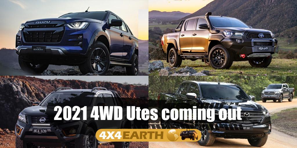 2021 4WD Ute comparison